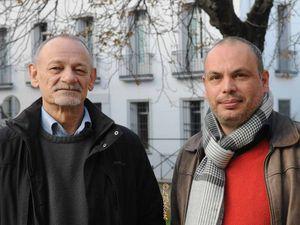 Photos en répétition (Cliquer sur chaque photo pour agrandir). Les organisateurs : Président :  Fabricio Cárdenas - trésorier: Jean-François Puig (à gauche)