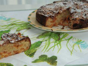 Super Gâteau aux  Abricots