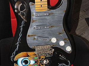 Pour l'amour de l'art: une guitare