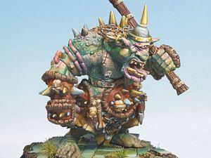 Commission: troll Rackham pour Mordheim