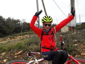 L'arrivée au Montmou ! Bravo à Julia, Julien et Antoine (Groupe 2) qui ont tout donné !