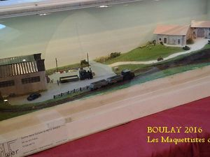 EXPOSITION MAQUETTES - BOULAY 2016 -