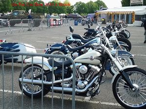 36e Fun Car Show 2016 à Illzach - motos  -
