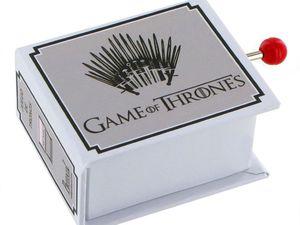 Boîte à musique à manivelle Game of Thrones