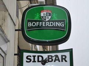 N° 6 rue Foch à Algrange - Café du Commerce, des Archers ou Sid Bar....