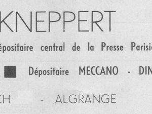 N° 15 rue Foch à Algrange - Tabac - Papeterie - Habillement - Chaussures et Maroquinerie - Habitation