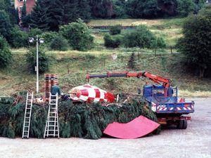 Les feux de la saint Jean 1996 à Algrange