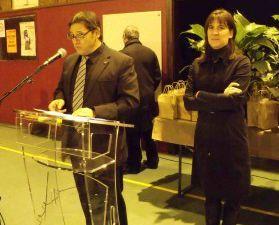 Clôture de l'exposition sur l'Environnement au COSEC à Algrange le 20 novembre 2010