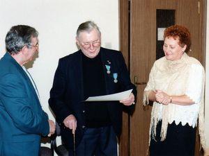 Jean CALASTRETTI médaillé en 1995 à Algrange