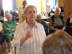 La Chorale Franco-italienne au foyer des Anciens en 2011 à Algrange