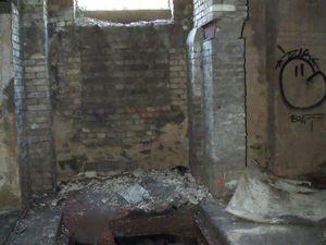 Intérieur des bâtiments de la mine de Rochonvillers à Algrange
