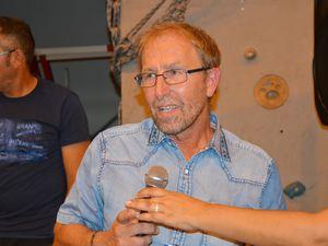 Fête de départ en retraite en 2017, de Daniel CERBAI, directeur de l'école de la mairie à Algrange