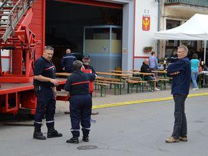 125ème anniversaire du corps des Sapeurs-Pompiers en 2017 à Algrange - Les Portes ouvertes (1)
