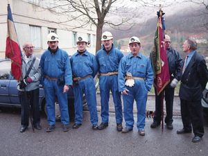 Sainte Barbe des mineurs en 1999 à Algrange.