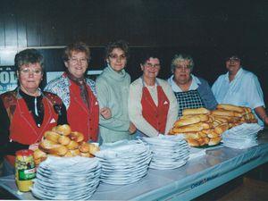 Sainte Barbe des Mineurs en 2000 à Algrange.