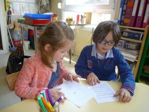 Le projet portrait...Une occasion d'échanges entre classes...