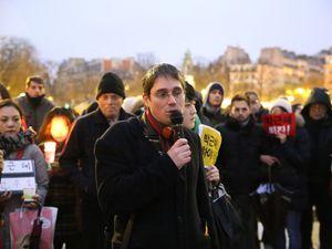 Images de la manifestation à Paris.