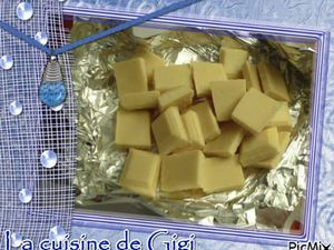 Crème brulée chocolat blanc