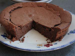 Fondant, ultra fondant au chocolat de Marlette sans gluten