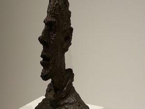 Grande tête mince - 1954 bronze
