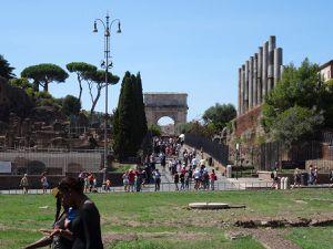 Les différents forums de Rome