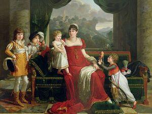 Commode Empire, la Duchesse de Feltre et ses enfants, Nymphéas, Promenade à Argenteuil