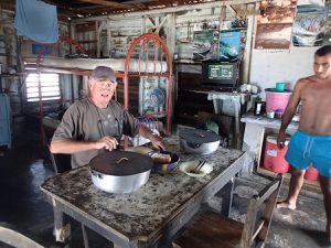 Cayo Rosario échange  avec ceux qui vivent sur les Cayos  dans les réserves.