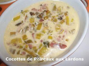 Des Restes... &amp&#x3B; Des Cocottes de Poireaux aux Lardons