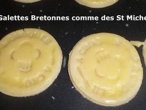 Un Tour en Cuisine #399 - Galettes Bretonnes comme des St Michel