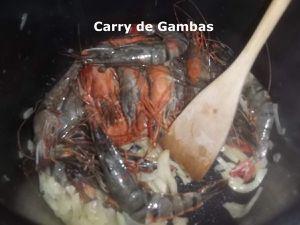 Un Tour en Cuisine #412 - Carry de Gambas (cookeo)