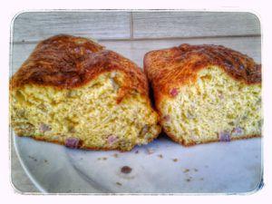 Cake de sophie jambon olives au kitchenaid