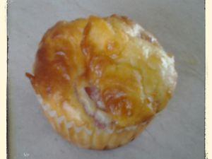 Muffins salé lardon et comté au thermomix