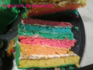 Rainbow-cake au thermomix