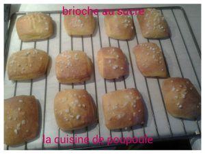 Brioche au sucre de Christophe Felder au thermomix ou kitchenaid