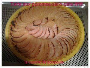 Tarte aux pommes sans pâte WW au thermomix