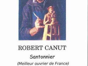 Robert Canut, santonnier de Provence à Tulette, Drôme Provençale