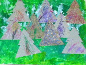 Voici notre forêt pour René le renne