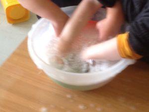 Ensuite, il faut faire la vaisselle !