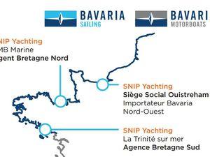 Bavaria se renforce en Bretagne, avec Snip Yachting