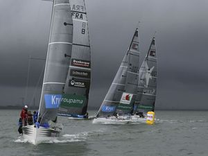 Tour de France à la Voile - conditions sportives à Dunkerque - photos : JM Liot