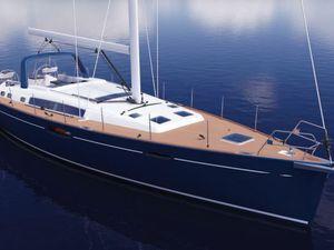 Les toutes premières images du Bénéteau Oceanis 60, le nouveau croiseur du chantier Bénéteau