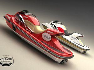 5 photos des Wetcati, des Ducati sur l'eau, façon jet ski