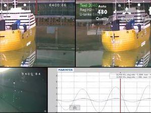 Vidéo - étonnant, un bateau qui efface des vagues de 5 mètres et annule le roulis