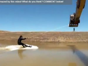 VIDEO - le Caterpillar Wakeboard, l'autre façon de surfer