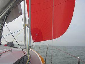 Premières photos en mer pour le nouveau voilier RM 1070 de Fora Marine (17)