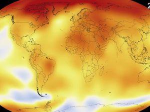 VIDEO - 135 ans de réchauffement climatique résumés en 30 secondes