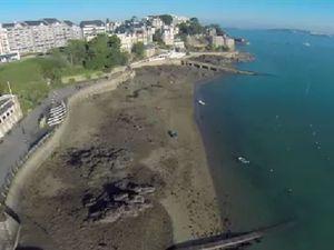 VIDEO - les charmes de Dinard dévoilés par un drone