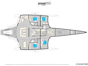 Un nouveau super-yacht chez Sunreef, le 150 Sunreef Power Trimaran