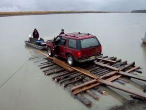 Vidéo - le Radeau de la Méduse, retrouvé en Alaska
