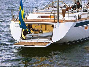 Un yacht Hallberg-Rassy 64 à découvrir au London Yacht, Jet and Prestige Car Show